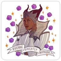 Vivienne Approval - Dragon Age by endrae