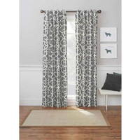 "Better Homes and Gardens Marissa Curtain Panel 54""x84"" Grey"