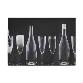 Champaign Toast Glass Cutting Board