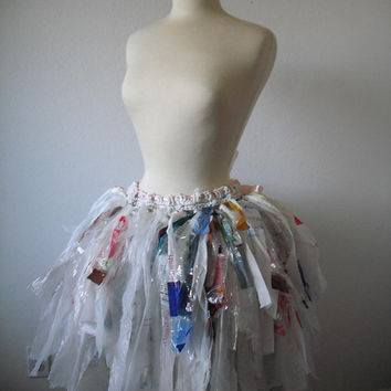 Recycled Plastic Bag Tutu