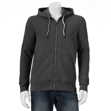 DCCKX8J SONOMA life style Fleece Zip-Up Hoodie - Big & Tall Size