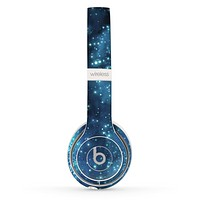 The Glowing Blue V2 Orbs of Light Skin Set for the Beats by Dre Solo 2 Wireless Headphones