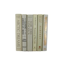 White Beige Decorative Vintage Book Set, S/6