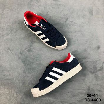 Adidas HALF SHELL 80s Men Women Fashion Casual Skate Shoes Blue, Green 2 Colors