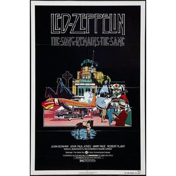 The Song Remains The Same Poster 24inx36in led zeppelin 24x36