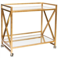 World's Away | Gerard Bar Cart-Gold