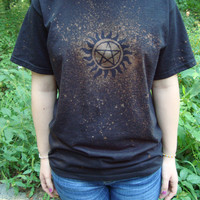 Supernatural  Tattoo Design T-shirt (Free Shipping in the US)