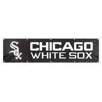Chicago White Sox MLB Applique & Embroidered Party Banner (96x24)
