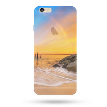 Holiday Beach iPhone 5S 6 6S Plus creative case + Gift Box-127