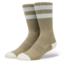 Stance Salty Socks In Brown