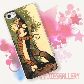 Calvin and hobbes for iPhone 4/4S, iPhone 5/5S, iPhone 5C, iPhone 6 Case - Samsung S3, Samsung S4, Samsung S5 Case