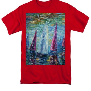 Sails To-night - Men's T-Shirt  (Regular Fit)