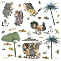 RoomMates RMK1381SCS Where the Wild Things Are Peel & Stick Wall Decals