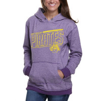 East Carolina Pirates Ladies Two-Toned Pullover Hoodie - Purple