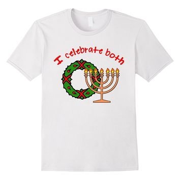 Christmas AND Hanukkah Tshirt by Scarebaby