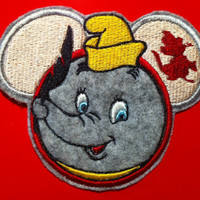 Disney Dumbo Inspired Mouse Ear Applique Patch