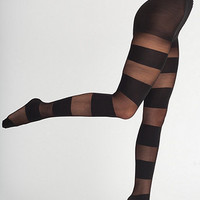 Sheer Luxe Solid Stripe Pantyhose