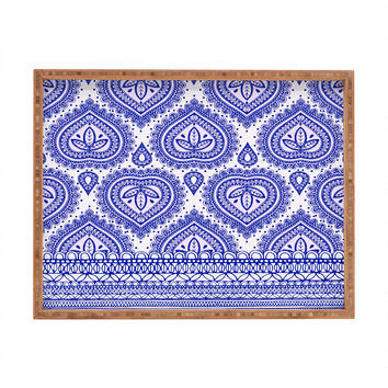 Aimee St Hill Decorative Blue Rectangular Tray