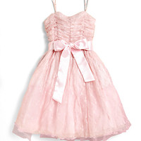 Un Deux Trois - Girl's Lace Party Dress