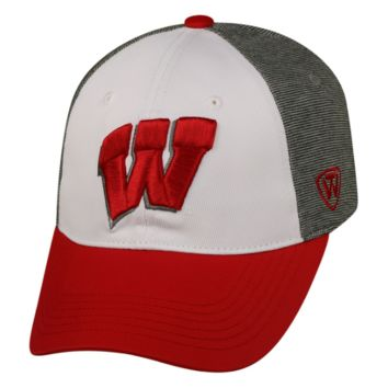 Wisconsin Badgers Hustle Stretch Hat By Top Of The World