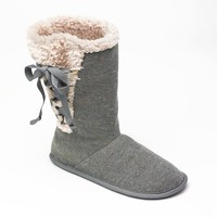 Best Knit Slipper Boots Products On Wanelo