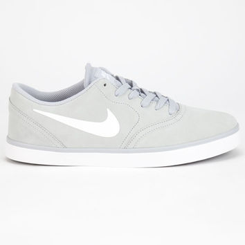 Nike Sb Check Mens Shoes Grey  In Sizes