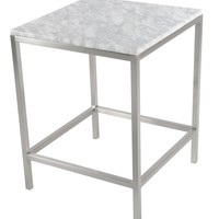Shea End Table Marble Top (FRAME SOLD SEPARATELY)
