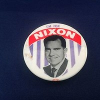 Richard Nixon Campaign Pin