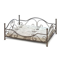 Pet Beds For Large Dogs, Steel Frame Comfy Pet Couch Bed, World Class Pet Bed