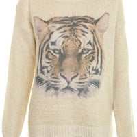 Printed Tiger Jumper