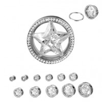 Star Screw Fit - Plugs - Jewelry Online Store