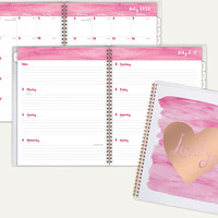 LovelyAcademic Customizable Weekly-Monthly Planner | 1113-901A | By AT-A-GLANCE