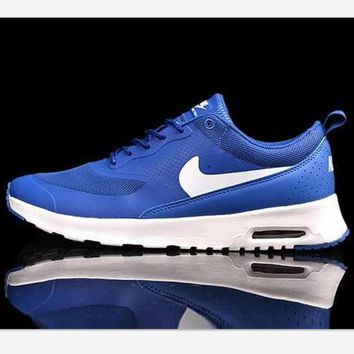 NIKE Women Men Running Sport Casual Shoes Sneakers Fashion Blue