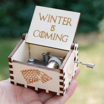 Star Wars Force Episode 1 2 3 4 5 New Arrivals  Music Box  Game of thrones Hand operated Musical Boxes   Caja de musica AT_72_6
