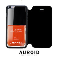 Chanel Nail Polish Holiday iPhone 6S Plus Flip Case Auroid
