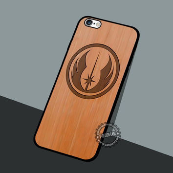 Star Wars Jedi Wooden - iPhone 7 6 5 SE Cases & Covers