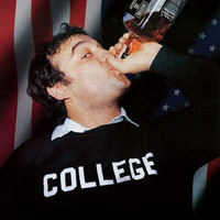 John Belushi Animal House Whiskey College Poster 24x34