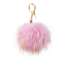 Pastel Purple Furry Bag Charm