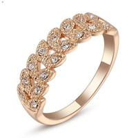 Roman Style Floral Ring