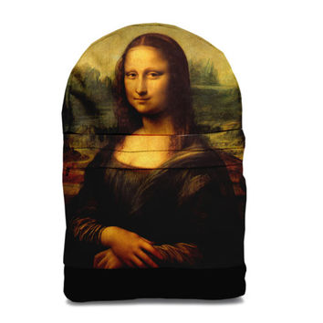 SALE! Mona Lisa backpack bag