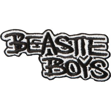 Beastie Boys Men's Embroidered Patch Black