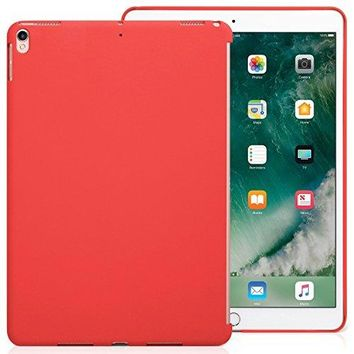 iPad Pro 10.5 Inch Red Color Case - Companion Cover - Perfect match for Apple Smart keyboard and Cover