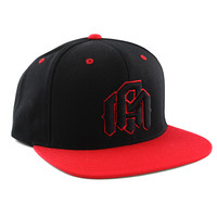 INTO THE AM Snapback - Red/Black - Default