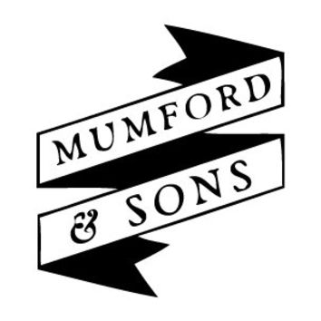 "Mumford and Sons ( & ) vinyl sticker decal for car or laptop 4 1/2"" x 4"""