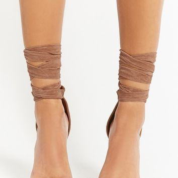Shoe Republic Lace-Up Heels