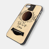 Taylor Swift Accoustic Guitar iPhone 5 Case by ArminArtDesign