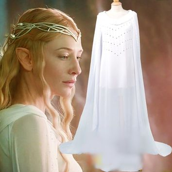 Cosplay Lord of the Rings Galadriel Dress Custom Cosplay Costumes Halloween