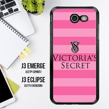 Victoria'S Secret X4244 Samsung Galaxy J3 Emerge, J3 Eclipse , Amp Prime 2, Express Prime 2 2017 SM J327 Case
