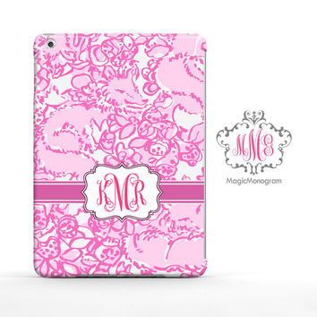 She is a Fox Lilly Pulitzer Monogram iPad Air Case, iPad Mini Case