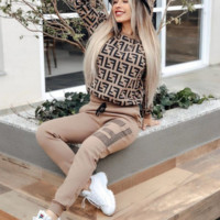FENDI Womens Two Piece Sets Top and Pants